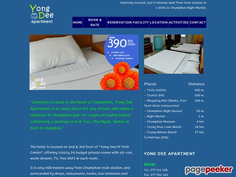 www.yongdeeapartment.com